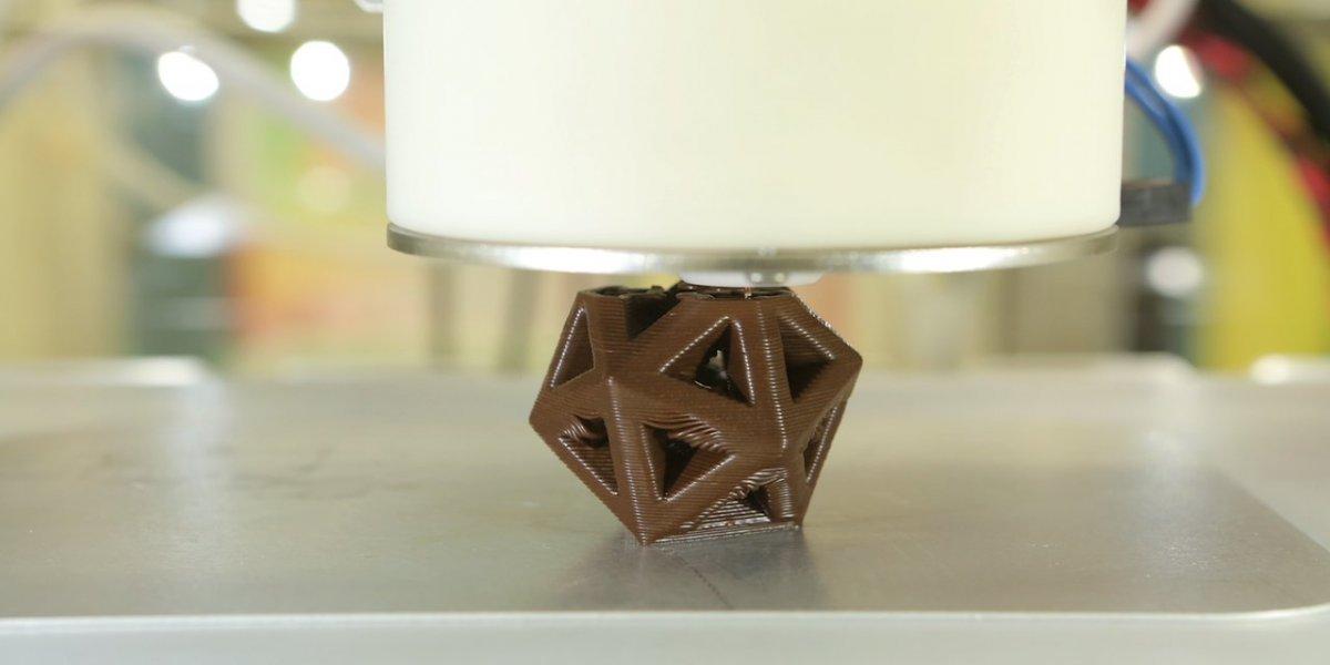 پرینت سه بعدی مواد غذایی