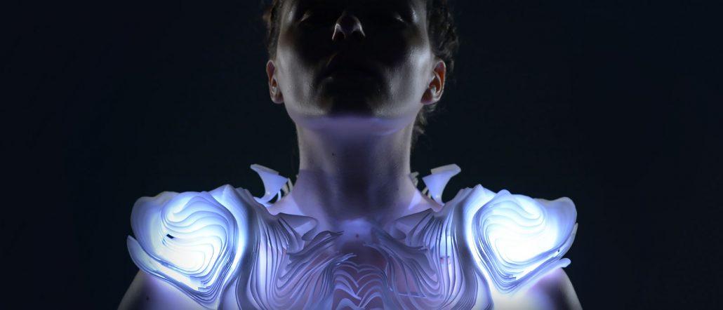 لباس پرینت سه بعدی