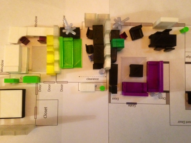 پرینت سه بعدی معماری