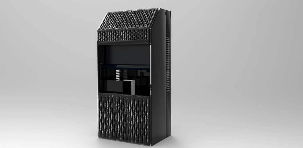 پرینتر سه بعدی رزینی DLP - UNCIA 3D