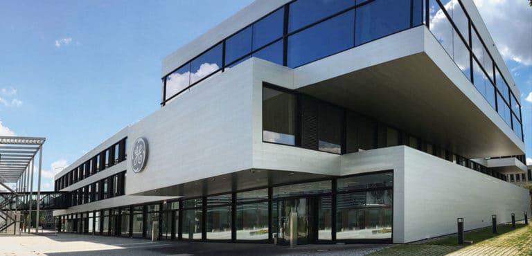 ساختمان بخش پرینت سه بعدی جنرال الکتریک در مونیخ