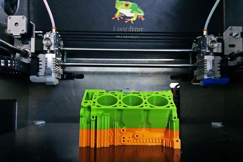 پرینترهای سه بعدی چند نازله
