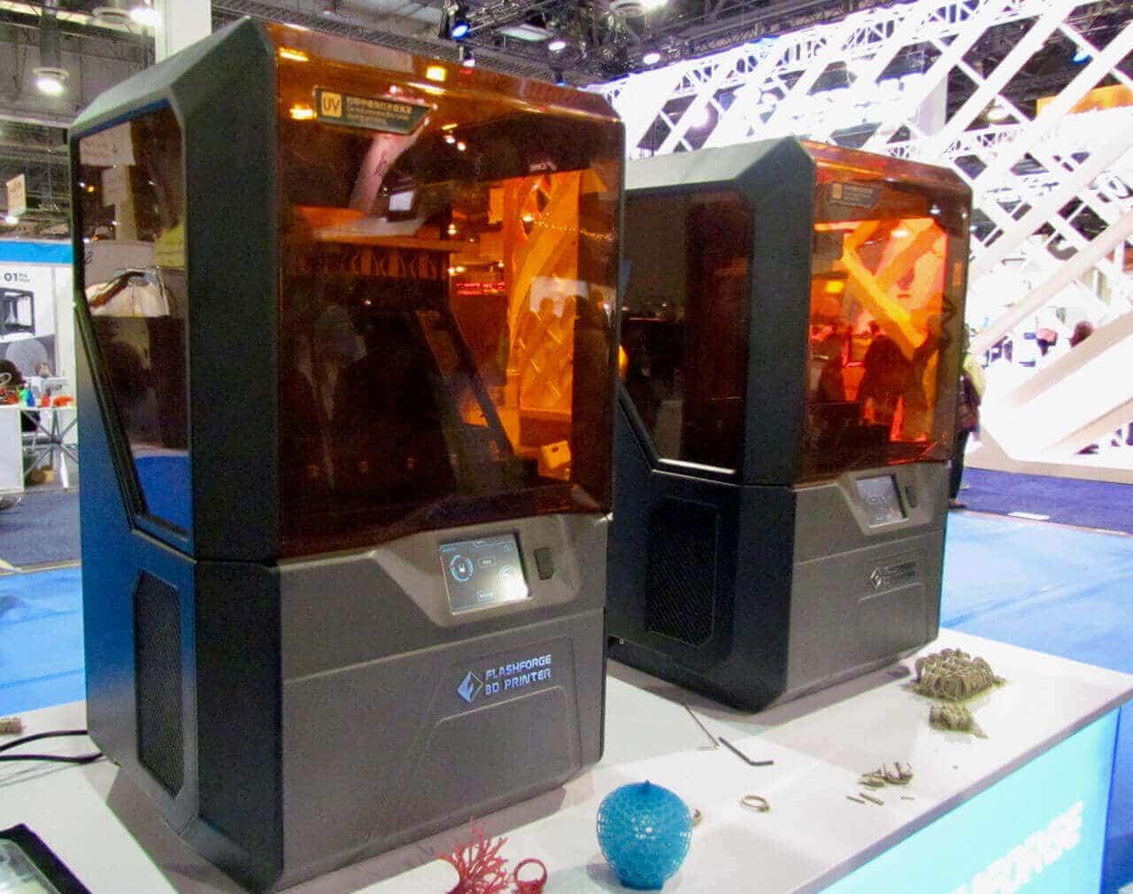 پرینتر سه بعدی رزینی DLP - FlashForge Hunter