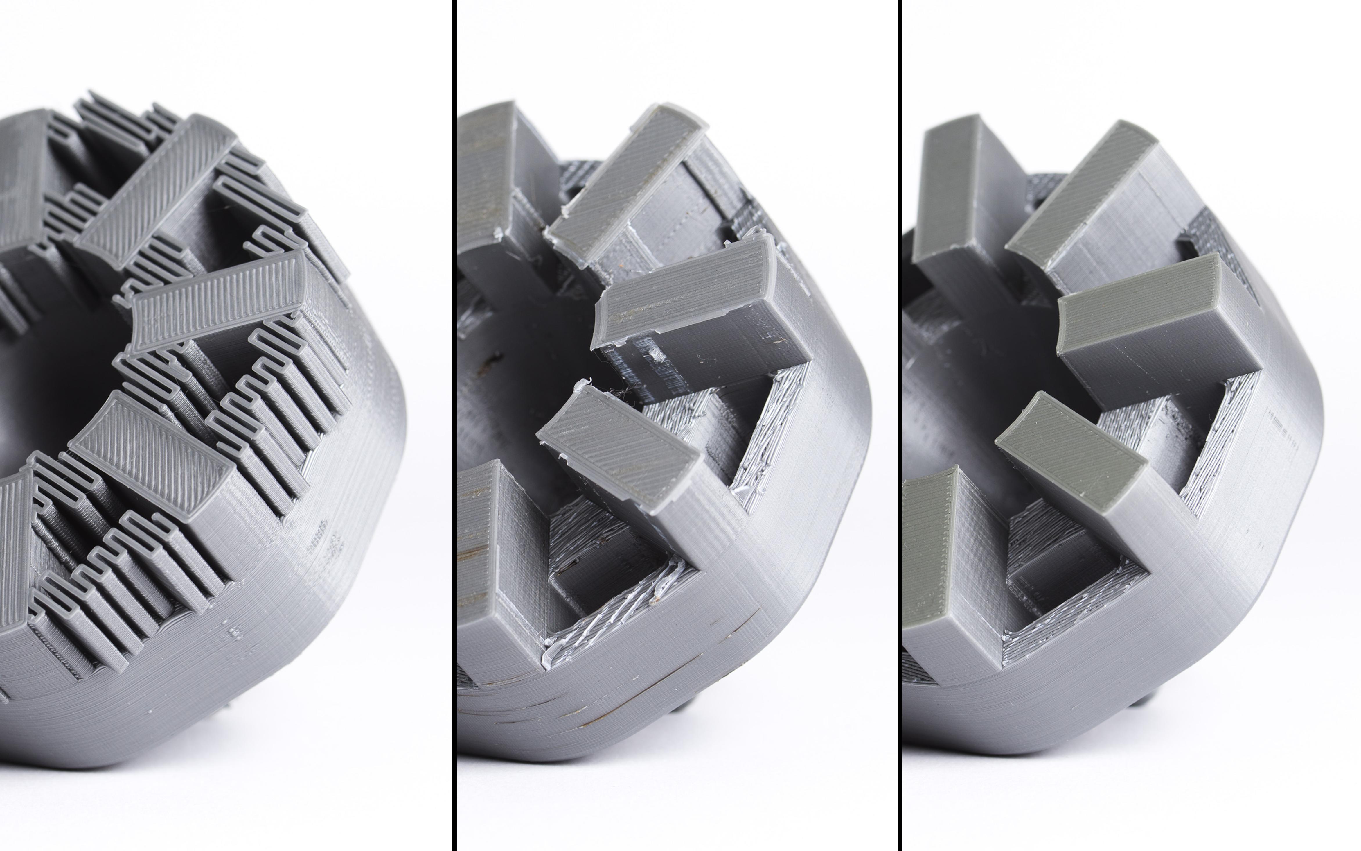 جدا کردن ساپورت های استاندارد از قطعات پرینت سه بعدی شده با تکنولوژی پرینت سه بعدی FDM (فیلامنتی)