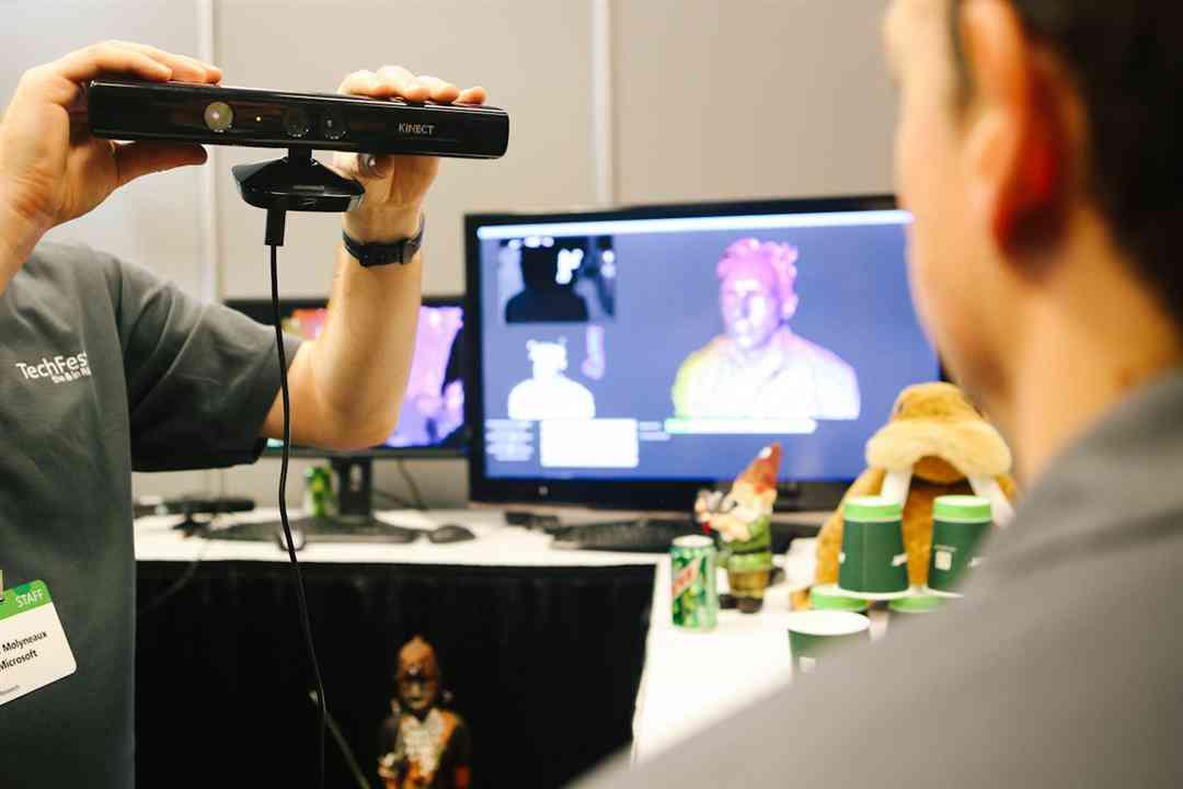 خرید اسکنر سه بعدی Microsoft Kinect