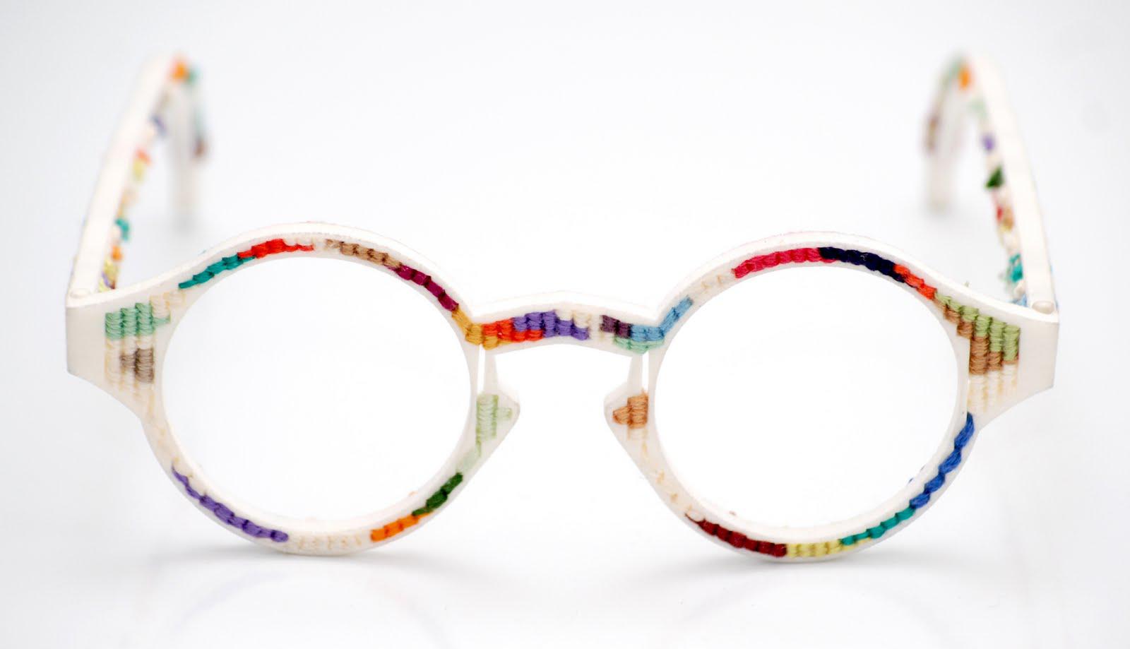 پرینت سه بعدی عینک