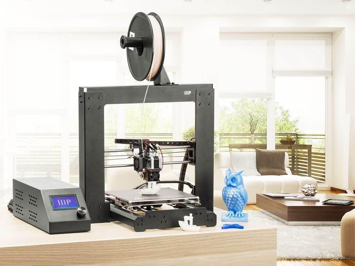 خرید پرینتر سه بعدی ارزان Monoprice Maker Select V2