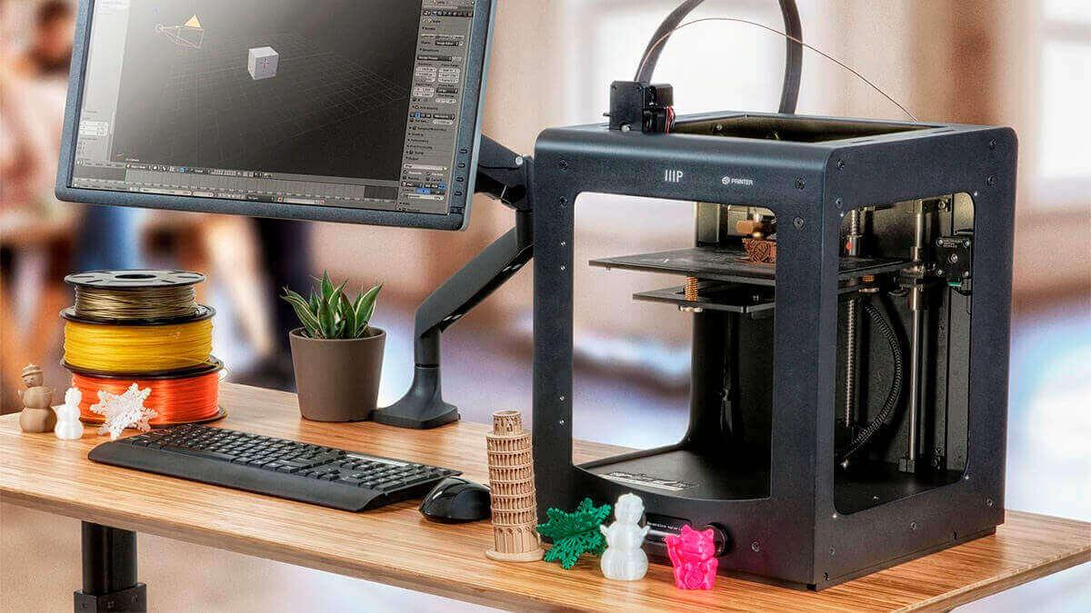 خرید چاپگر سه بعدی ارزان Monoprice Maker Select Ultimate