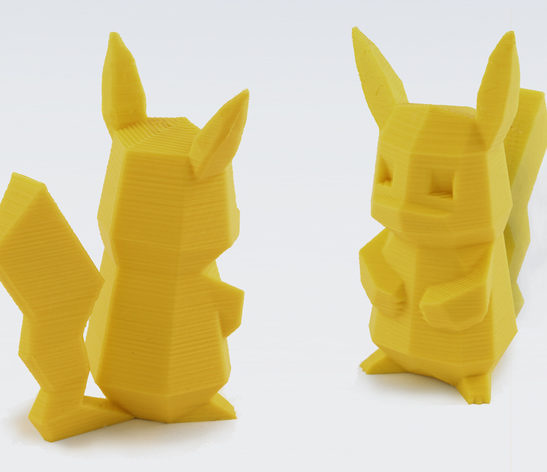Low-poly Pikachu