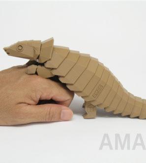 پرینت سه بعدی پانگولین