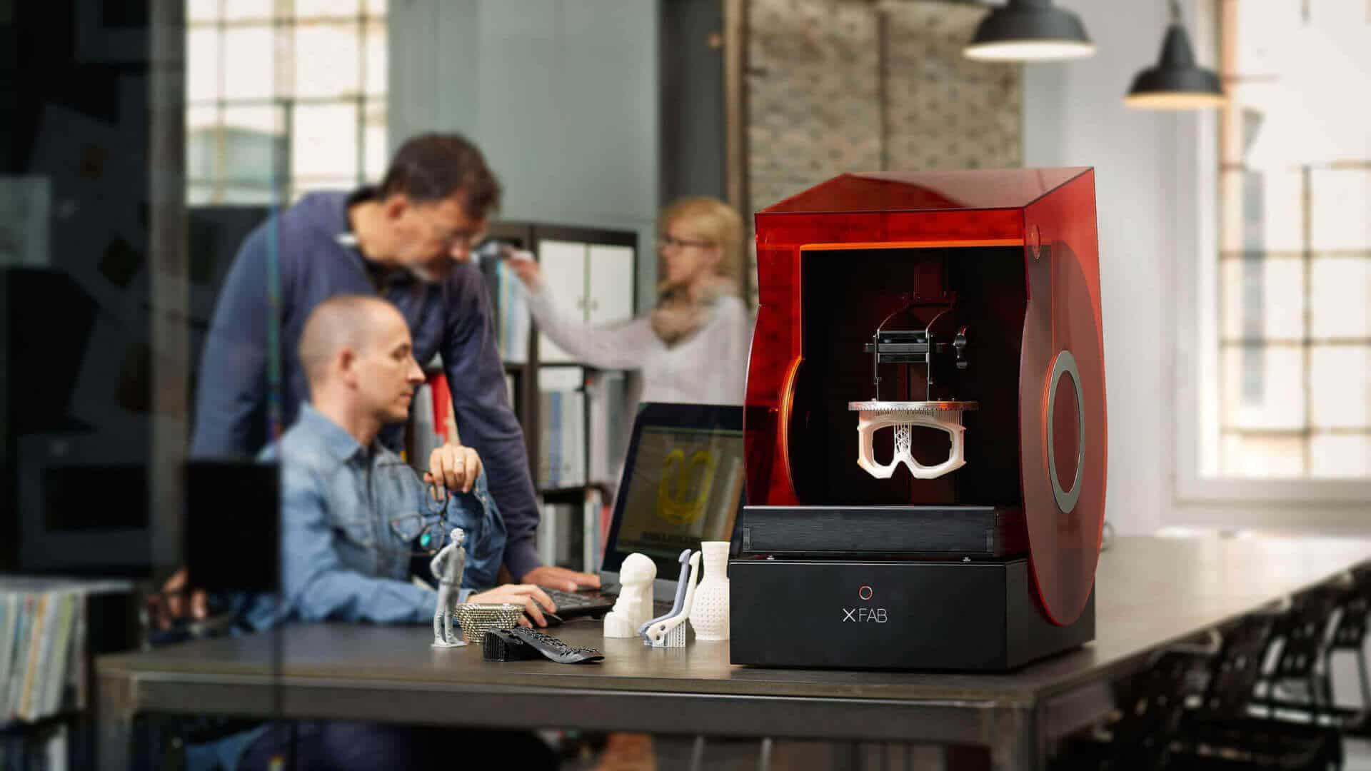 پرینتر سه بعدی رزینی SLA - DWS Lab Xfab