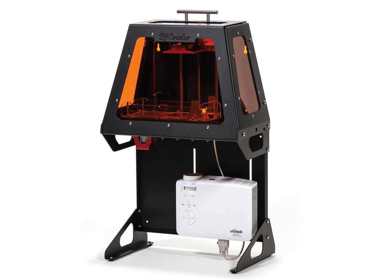 پرینتر سه بعدی رزینی DLP - B9CreatoR v1.2