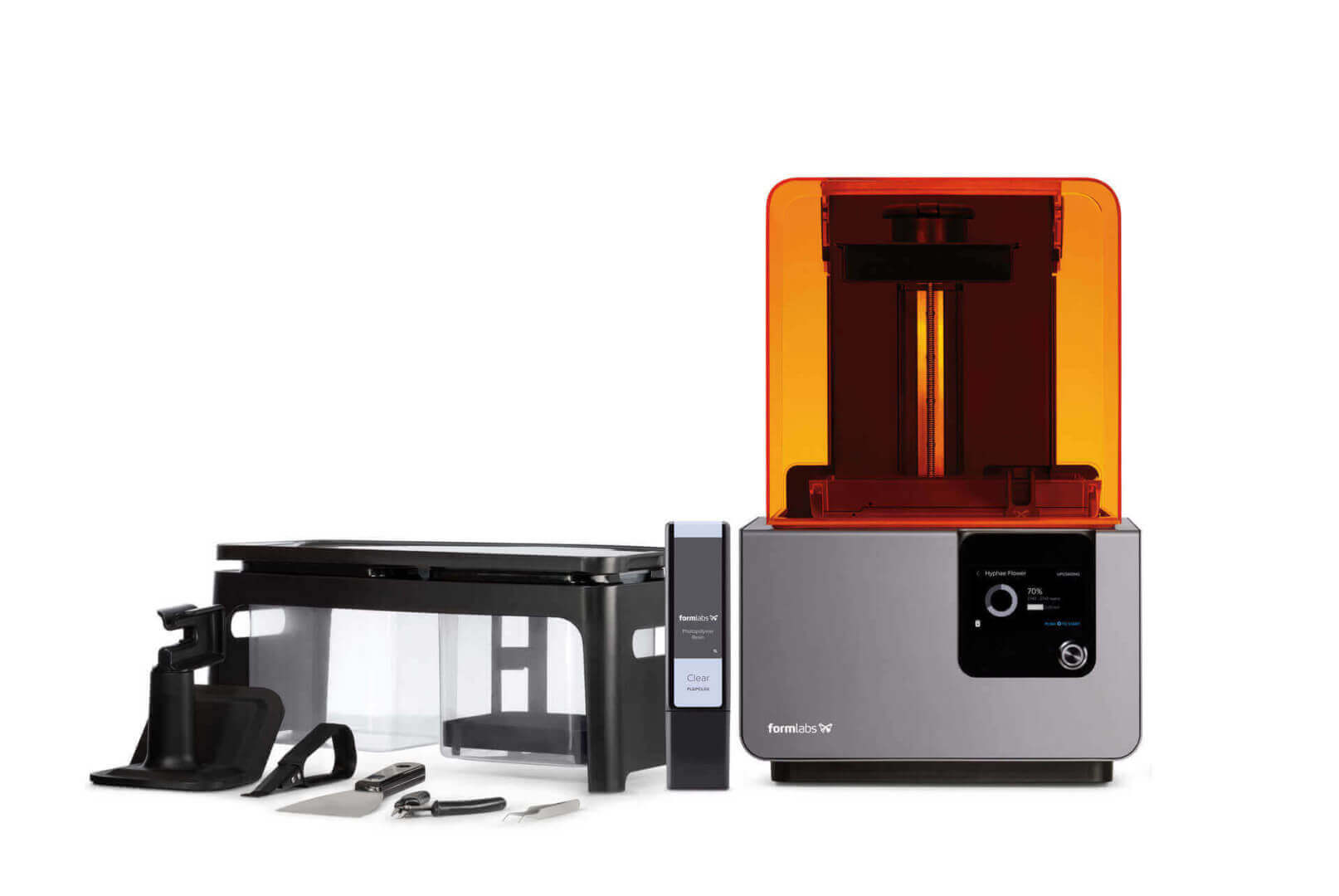 پرینتر سه بعدی رزینی SLA - Formlabs Form 2