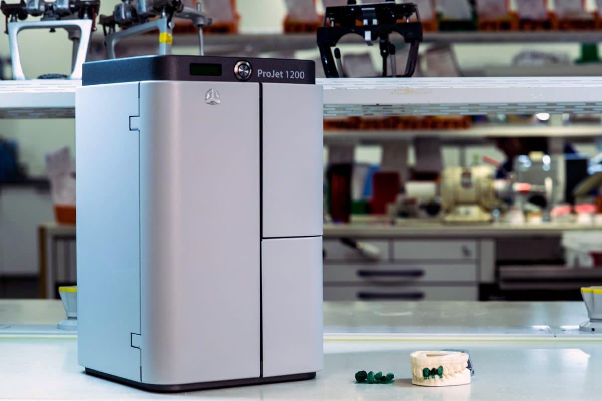 پرینتر سه بعدی رزینی SLA - ProJet 1200 3D Systems