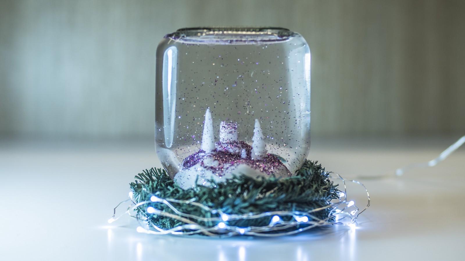 با پرینتر سه بعدی گوی برفی شیشه ای بسازید
