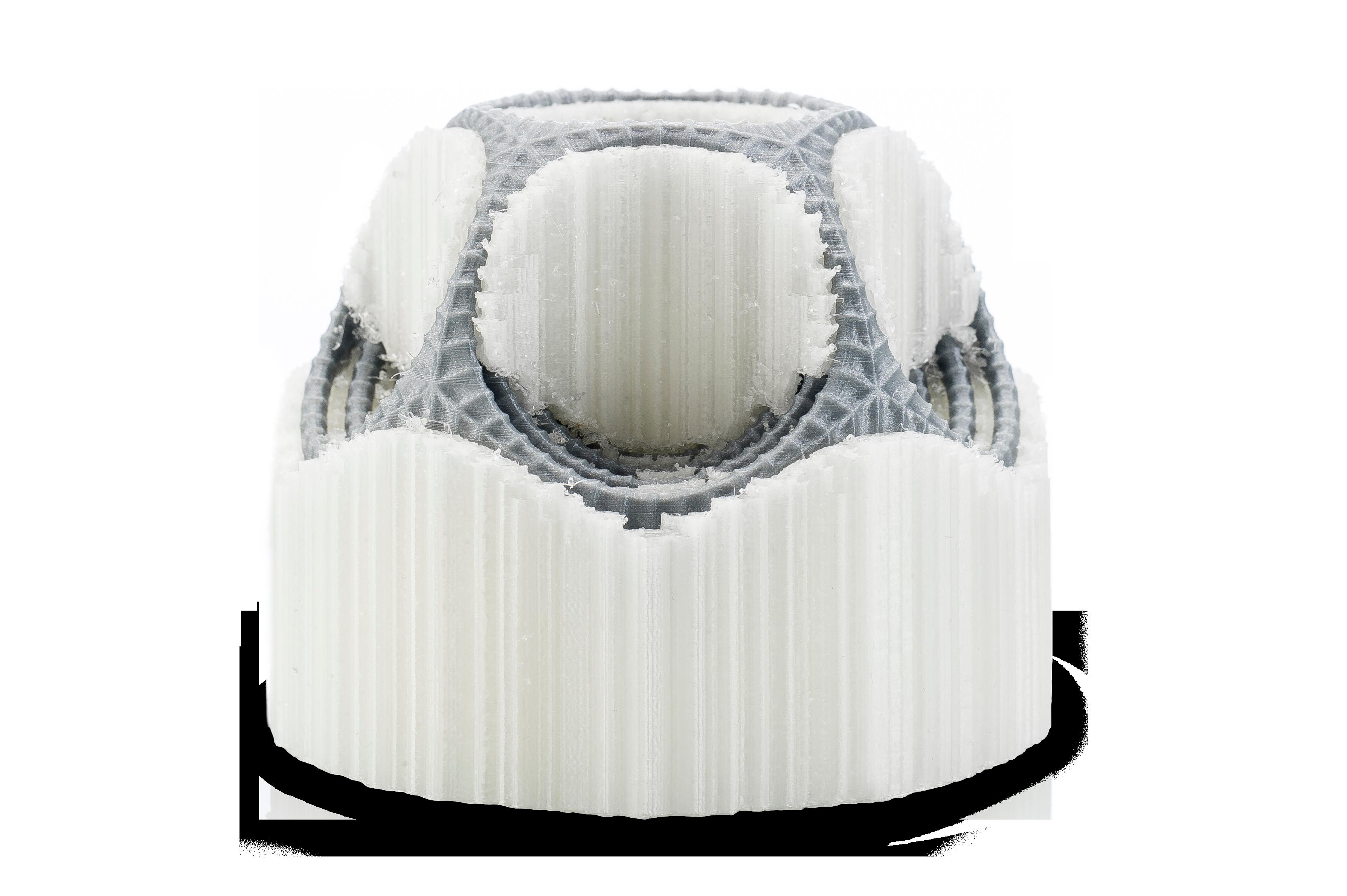 پرینت سه بعدی با ساپورت PVA محلول در آب