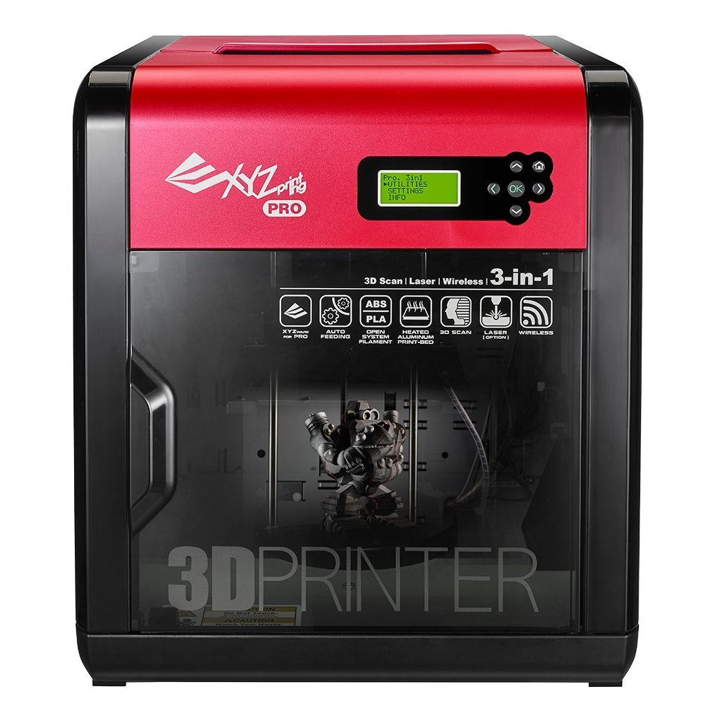 خرید پرینتر سه بعدی XYZprinting da Vinci 1.0 Pro 3 in 1