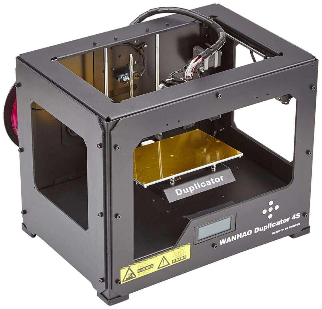 خرید پرینتر سه بعدی ارزان Wanhao Duplicator 4S
