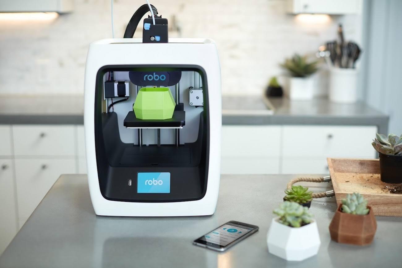 خرید چاپگر سه بعدی ارزان Robo C2
