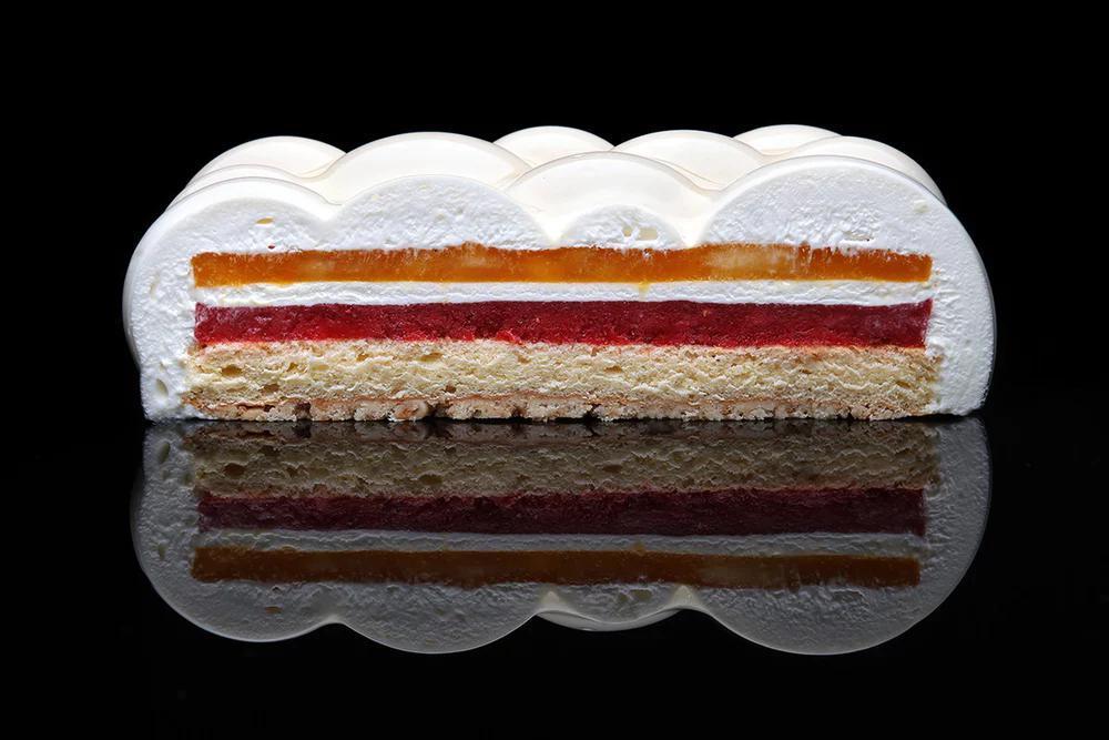 پرینت سه بعدی کیک و شیرینی