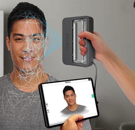 اسکنر سه بعدی sense 2