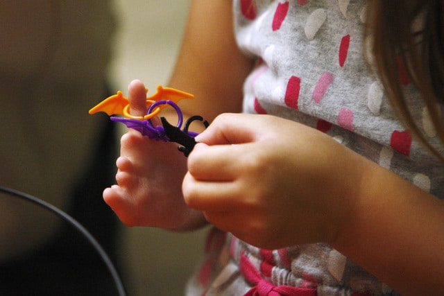 پرینت سه بعدی دست مصنوعی هیلی