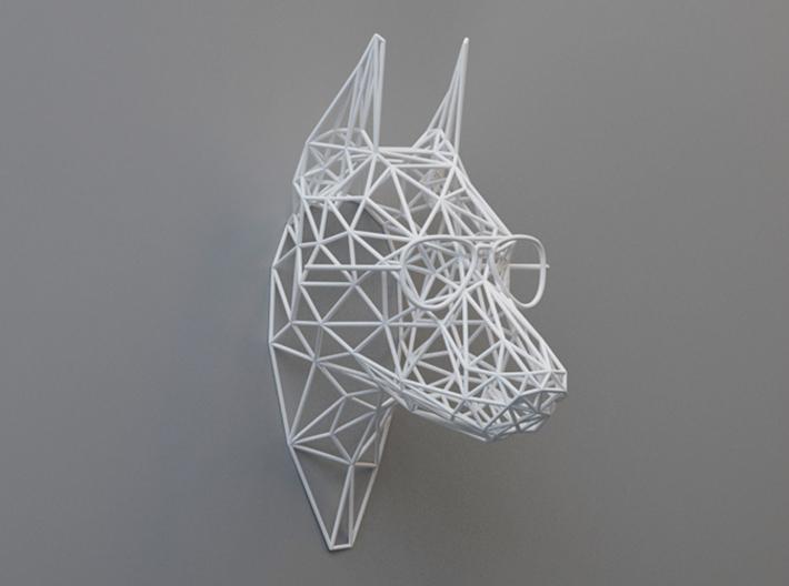 پرینت سه بعدی تندیس دیواری سر
