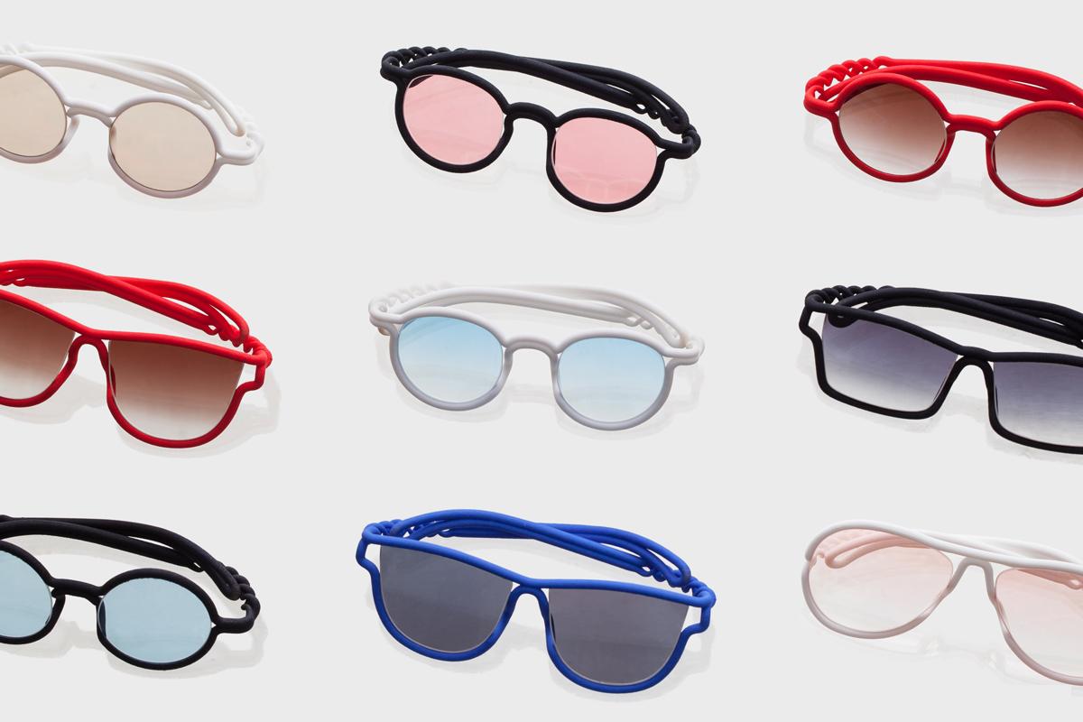 رنگها و مدلهای مختلفی برای شیشه عینک سه بعدی پرینت شده
