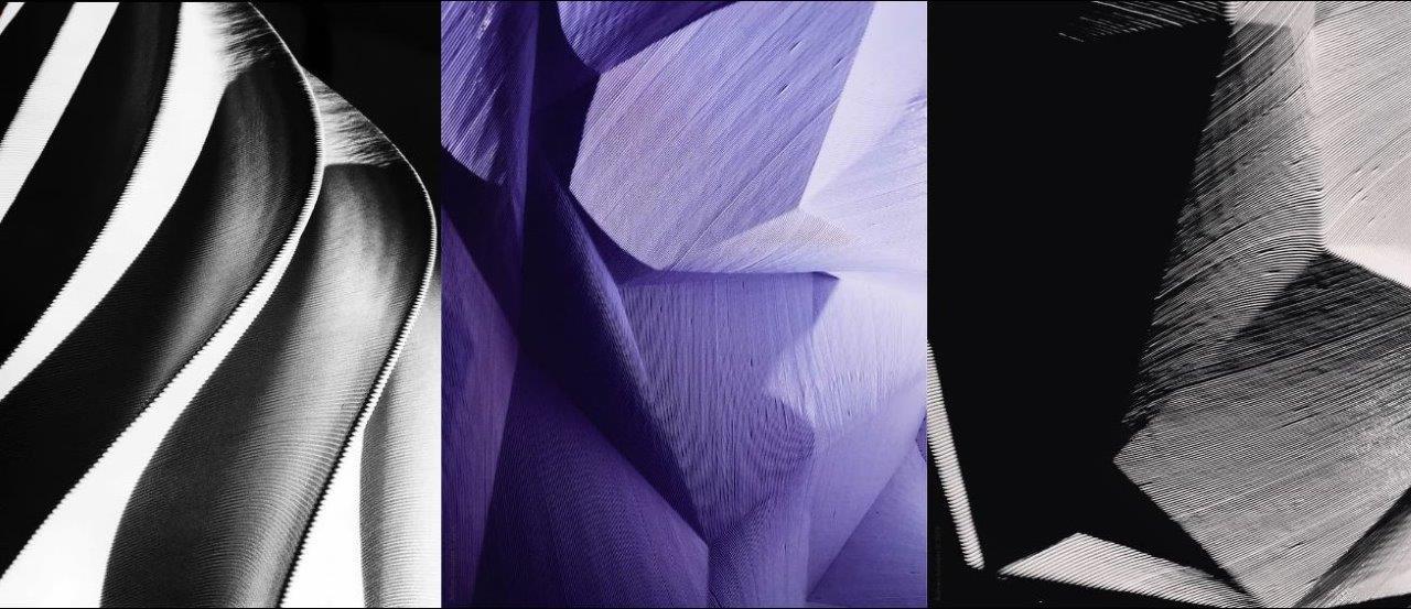 لامپ ساخته شده از لایه های درخشان بزرگ