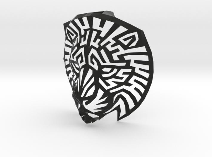 پرینت سه بعدی تندیس دیواری سر شیر