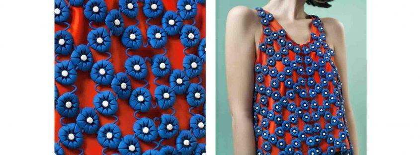 استفاده از پرینت سه بعدی در فشن در طراحی این لباس