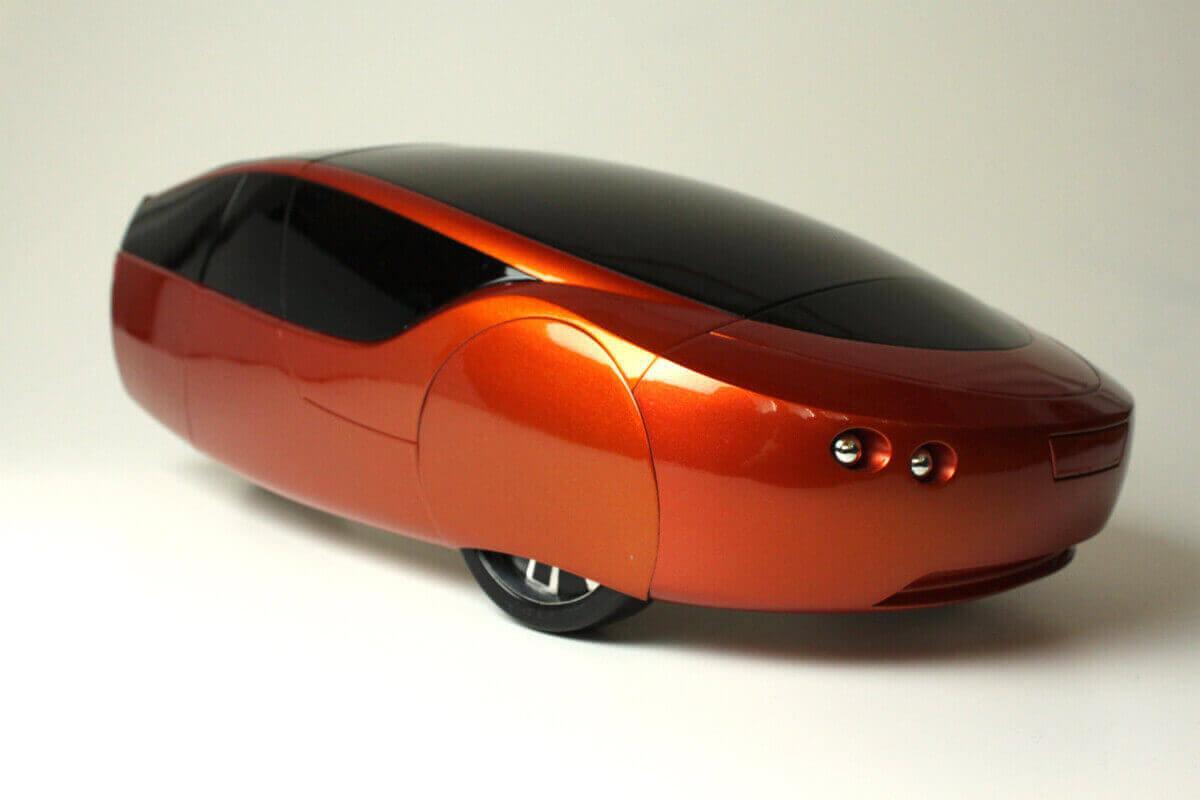 خودروی ساخته شده برای محیط زیست از پرینت سهبعدی