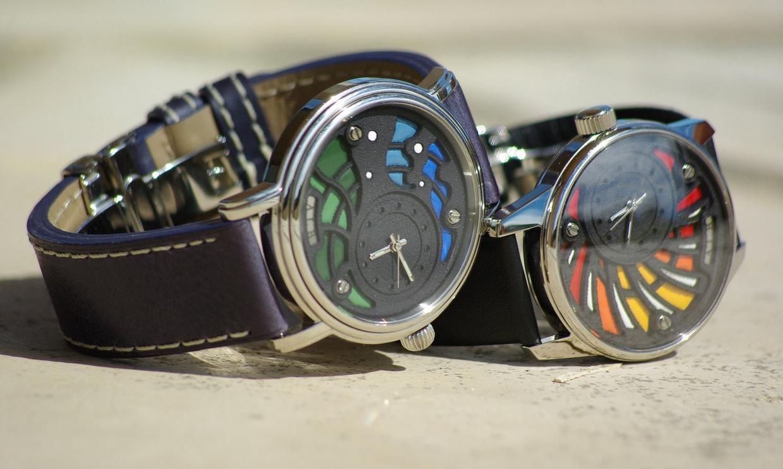 دو نمونه ساعت پرینت سه بعدی شدهA.L.B