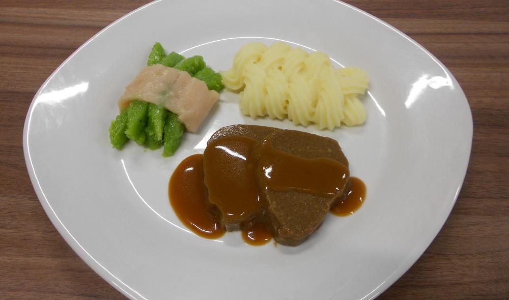 نمونهای از غذای تهیه شده توسط Foodjet