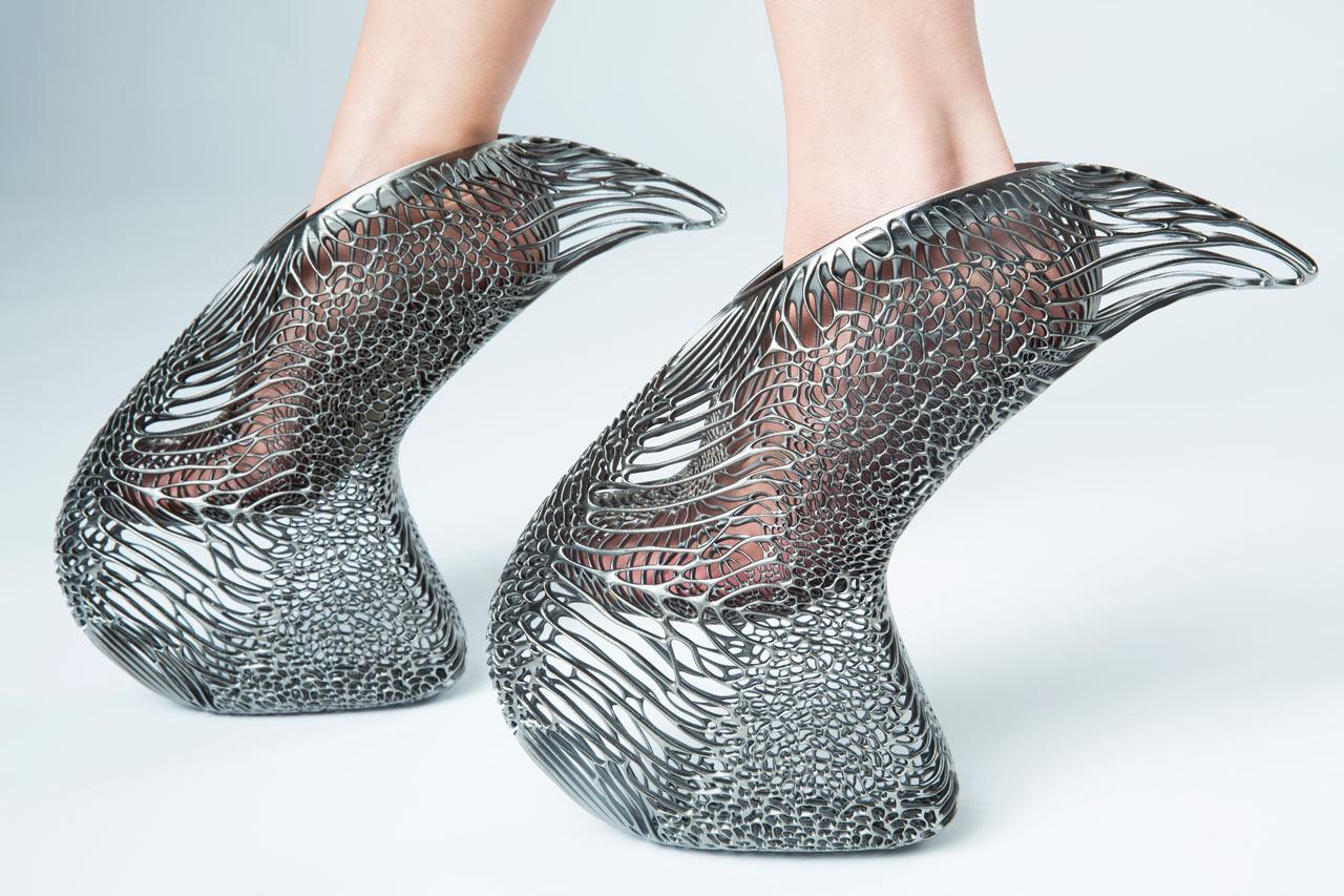 کفش پرینت سه بعدی شدهMycelium