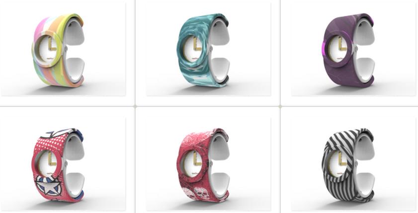 ساعت Tenvas در طرح های مختلف