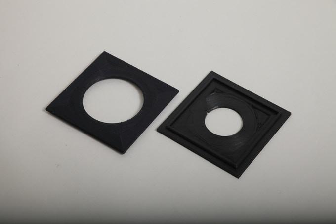 قطعات پرینت شده به کار گرفته شده در دوربین