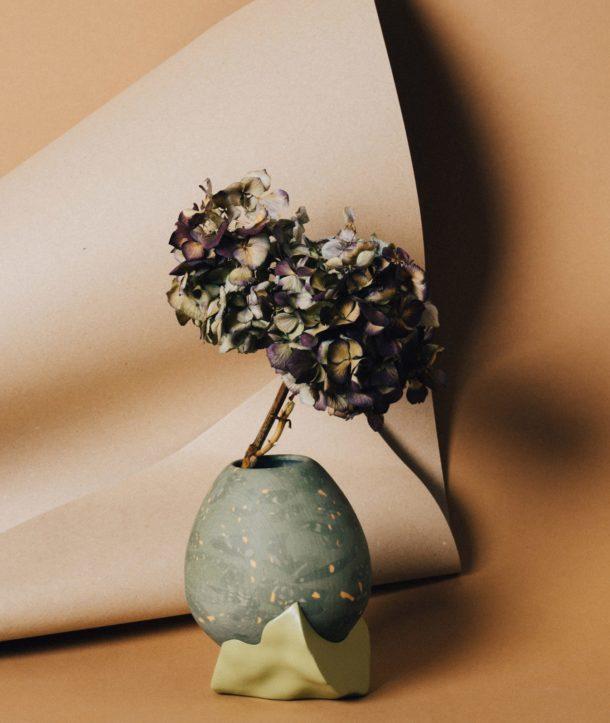 گلدان و پایه گلدان پرینت سه بعدی شده