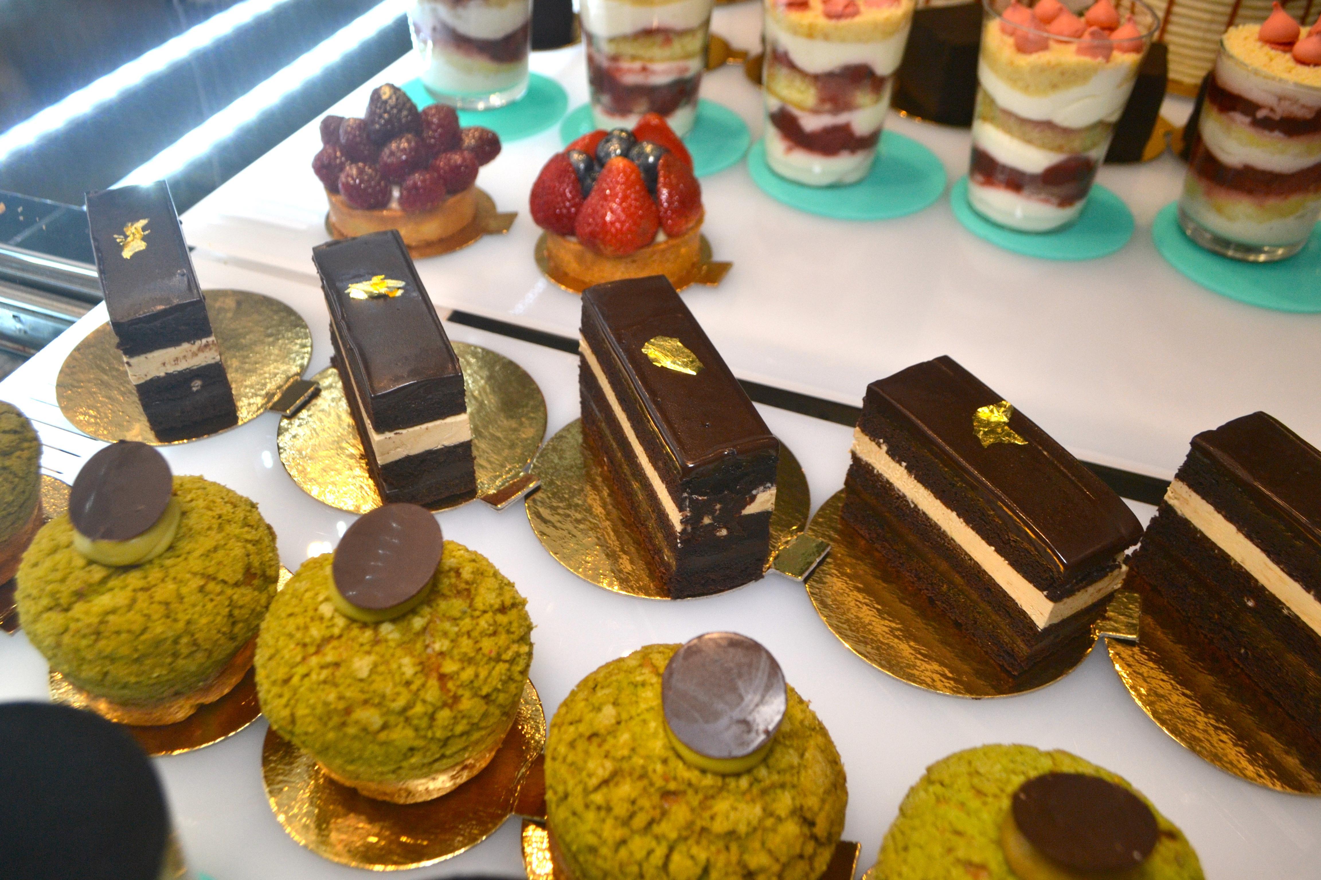 شیرینی و شکلات های حاصل از پرینتر سه بعدی