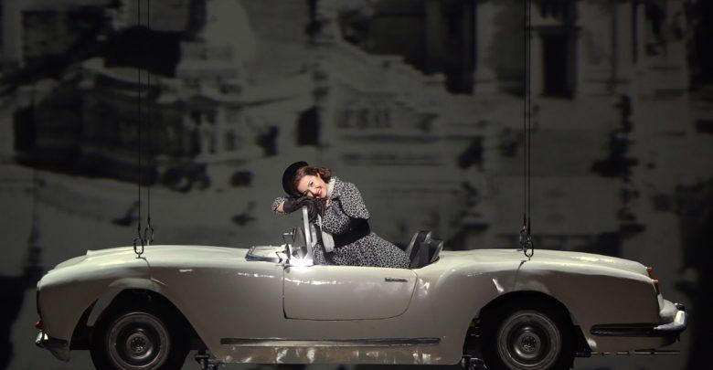 پرواز ماشین پرینت سه بعدی شده در نمایش اپرا در میلان