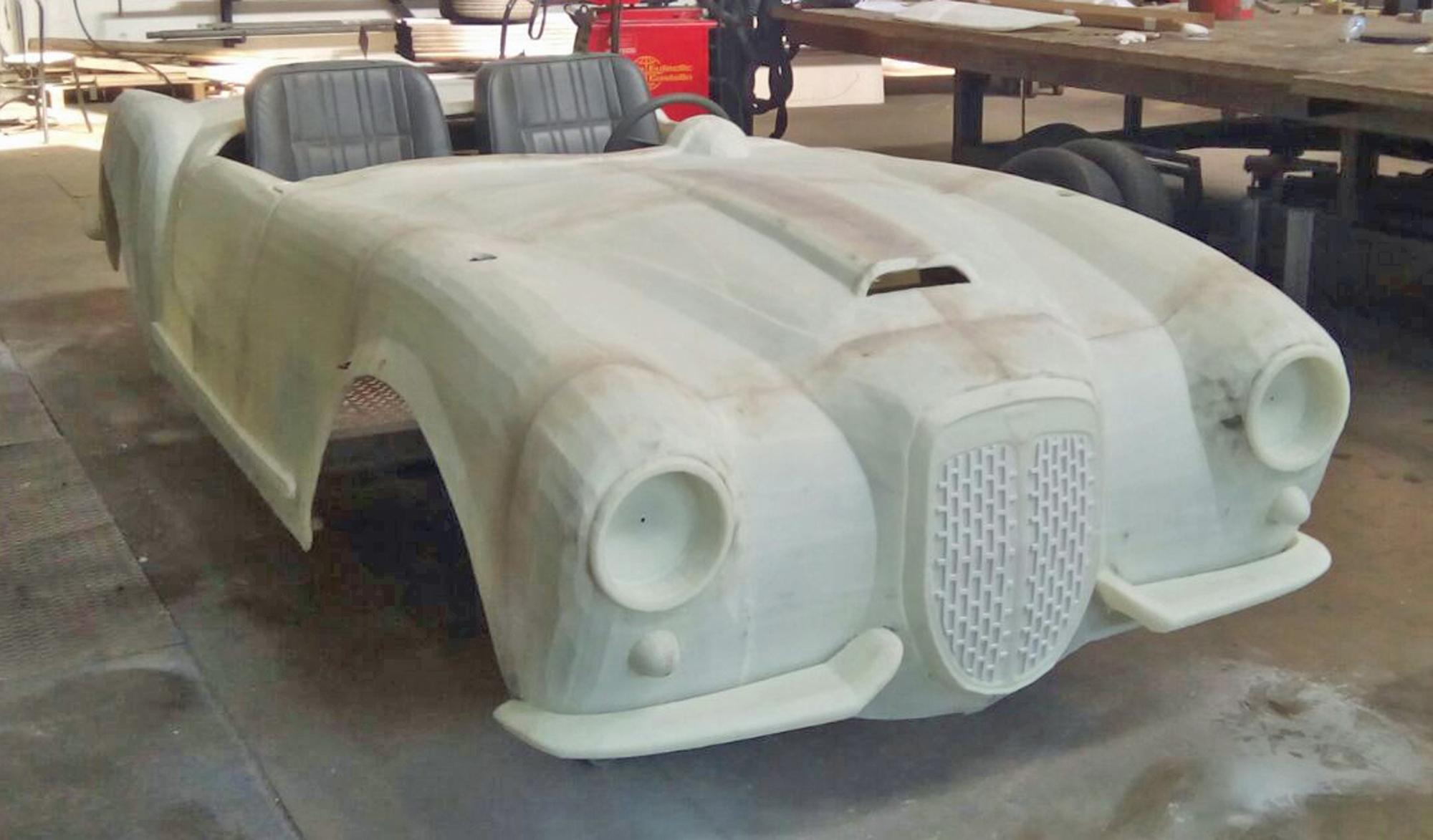 ماشین پرینت سه بعدی شده در نمایش اپرا در میلان