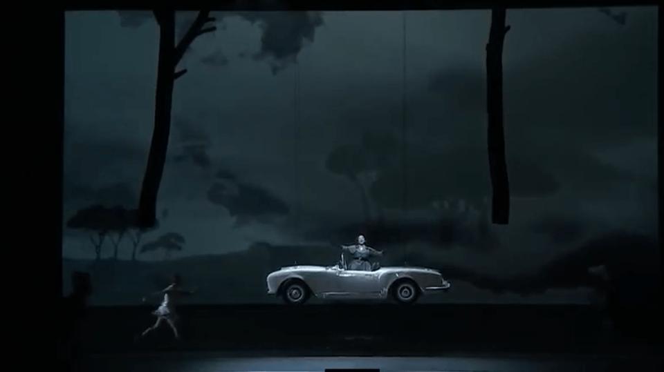 تصاویری از پرواز ماشین پرینت سه بعدی شده در نمایش اپرا