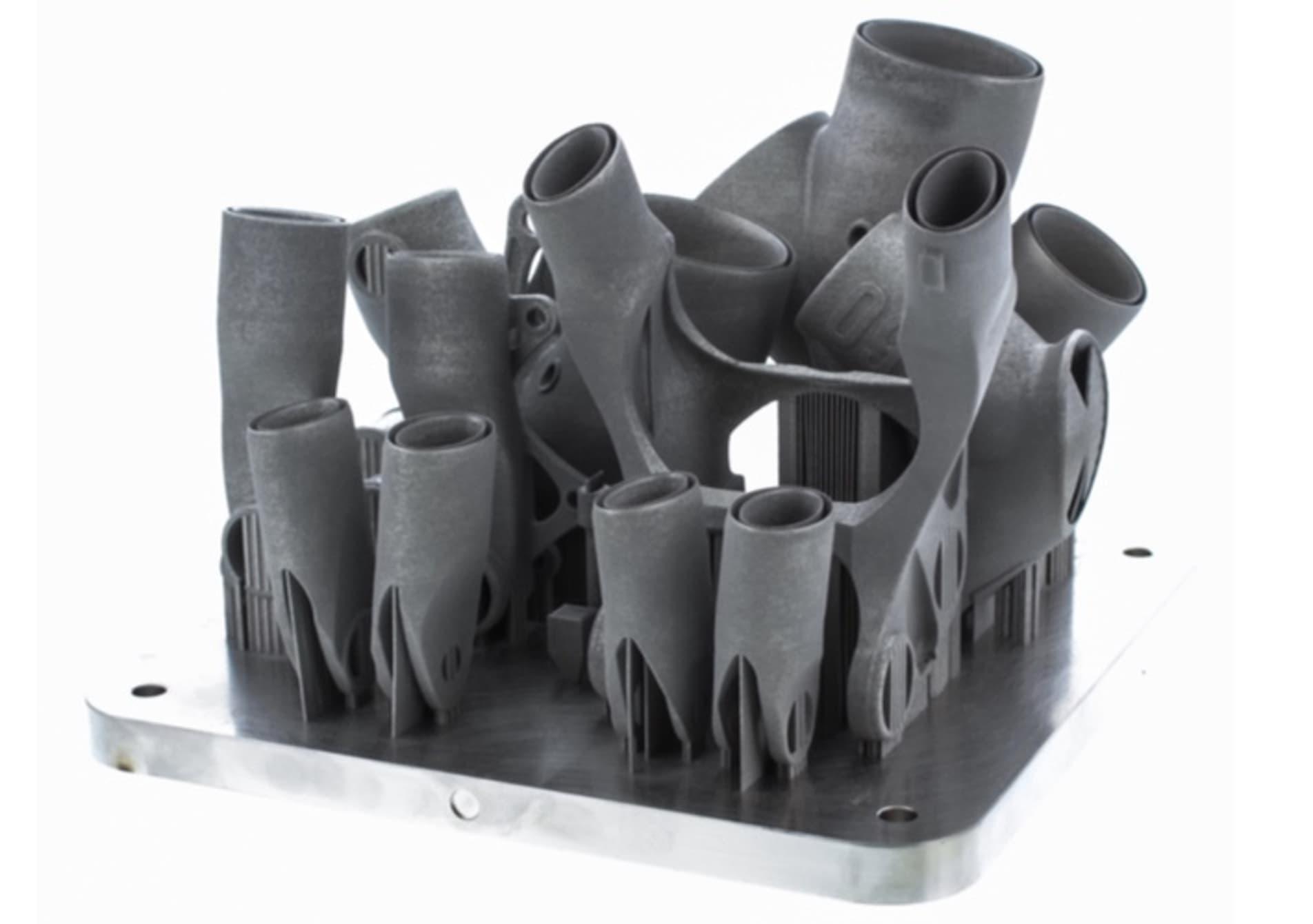 پرینت سه بعدی قالبهای تیتانیومی