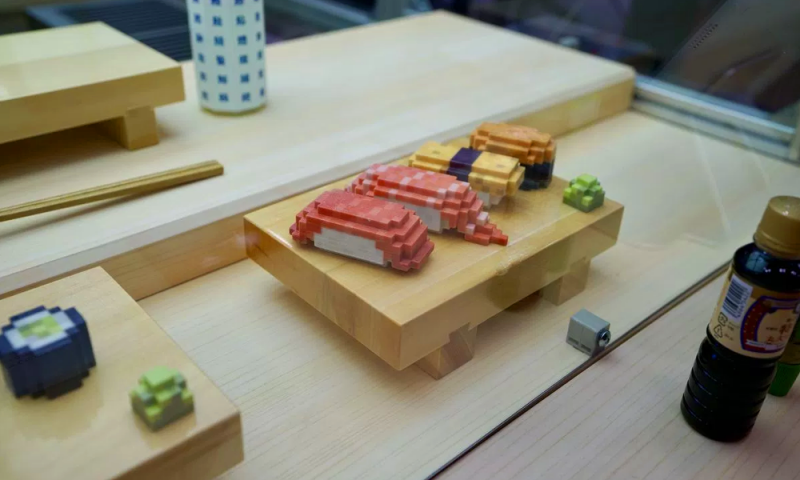 سوشیهای چاپ سه بعدی شده با کاراکترهای 8 بیتی