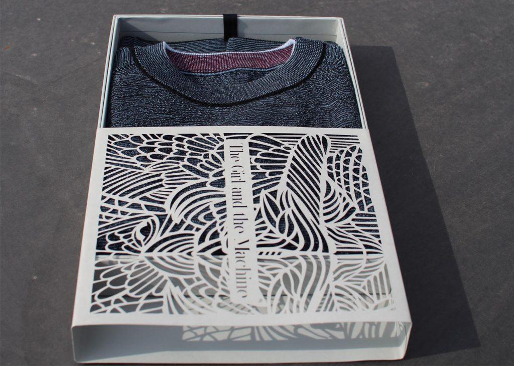 نمونه ای از لباس پرینت سه بعدی شده
