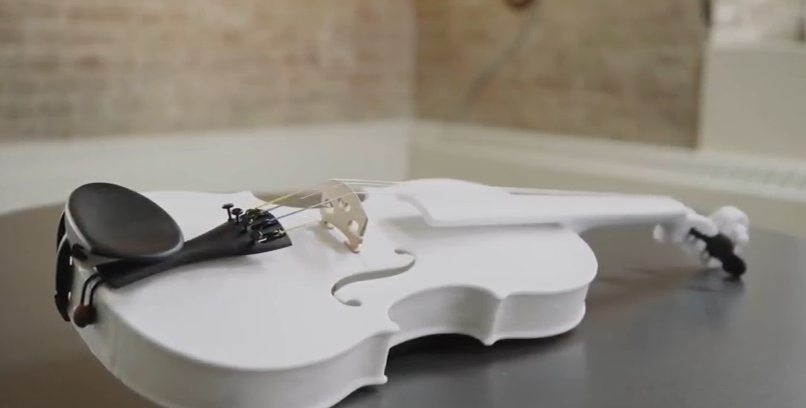 ویولون پرینت سه بعدی شده