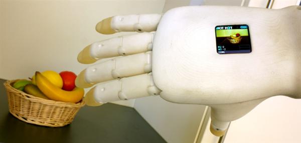 اولین دست مصنوعی با دوربین تعبیه شده در کف دست