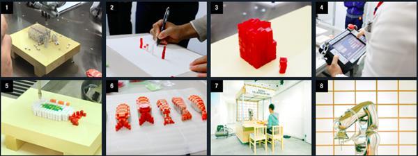 دید کلی از تولید سوشی پرینت سه بعدی شده