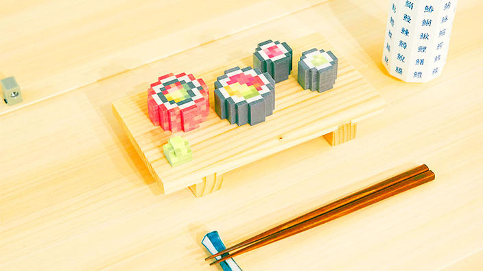 پرینت سه بعدی غذا (سوشی با ساختاری عجیب)