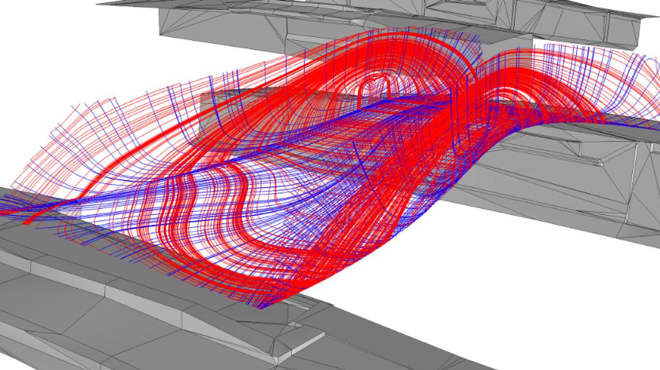طراحی سه بعدی پل